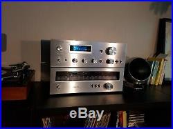 Vintage 1979 Pioneer SA 508 Amplifier and TX 608 tuner Fluoroscan series