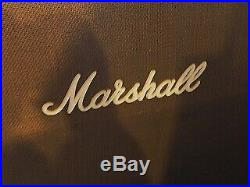 Vintage 1980's MARSHALL JCM 800 MODEL Tube Combo Amp 1960A White Cabinet Rare
