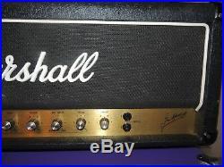 Vintage 1982 Marshall JCM800 Model 1992 Super Bass 100 Watt Tube Amplifier Amp