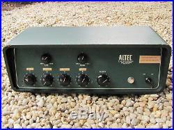 Vintage 35W Tube Amp & Mixer with 4 XLR Inputs Altec Lansing 342B