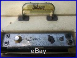 Vintage 50s Gibson Gibsonette Tube Amp. Original Jensen speaker. Works