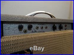 Vintage 60s Alamo Embassy Guitar Tube Amplifier Amp