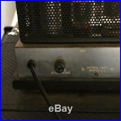 Vintage 60s Ampeg USA B-18-N Portaflex Tube Amp and Cab