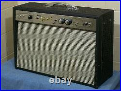 Vintage 67 National Bass Amp Tube Amplifier 70 C12n Jensen, Supro Valco Airline