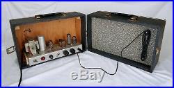 Vintage 6BQ5 12AX7 Guitar Tube Amplifier Head & Webcor Speaker Home Brew Amp