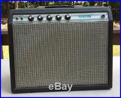 Vintage 70s Fender Princeton Tube Amp Amplifier with speaker upgrade