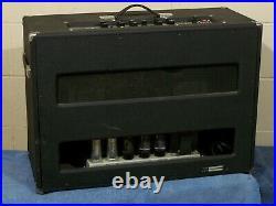 Vintage 76 Sano Supernova Stereo Guitar Tube Amp Tremolo Reverb 8417 USA 500r-12
