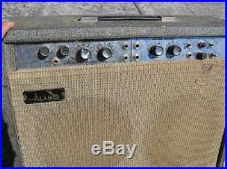 Vintage Alamo 2x10 Combo Tube Guitar Amplifier Amp
