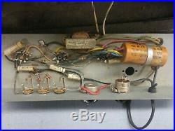 Vintage Alamo Capri Tube Amp Amplifier Harp or Guitar Rare For Repair
