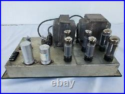Vintage Altec 1569A Tube Amplifier. Working well