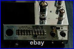 Vintage Audio Mcintosh MC 225 tube Power Amplifier Free worldwide shipping