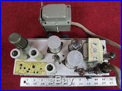 Vintage Bell & Howell 202 Tube Amplifier & Transformer