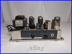 Vintage Bell & Howell 385 Filmosound Tube Amp Amplifier Guitar HiFi 6V6 12AX7