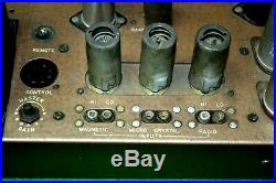Vintage Bell Sound 2145A Triode Tube Mono Integrated Amplifier & Remote Control