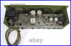 Vintage Berlant Series 30 Concertone Microphone Tube Amp Preamp