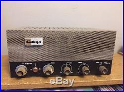 Vintage Bogen Challenger CHA 20 Tube Amplifier Guitar 6V6 amp Complete Working