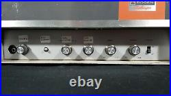 Vintage Bogen Challenger Tube Amplifier