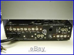 Vintage Bogen MO-100A Tube Amplifier / Mod to Stereo 6L6 / KT