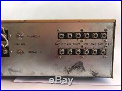 Vintage CALRAD Model SA-30B 30 Watt Hi-Fi Stereo Tube Amplifier Japan RARE