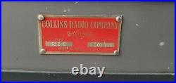 Vintage Collins Radio 12Z-2 Portable Tube Input Microphone Mic Mixer Preamp Amp