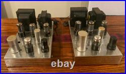 Vintage Craftsmen RC-2 Mono Block Tube Amp Amplifiers Works Rare