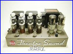Vintage Custom RCA Theater Sound MI-9377A Stereo Tube Amplifier / 807 / KT