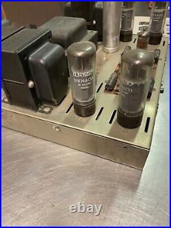 Vintage DYNA DYNAKIT Stereo 70 Tube Amp In Original Box And Instructions! Read