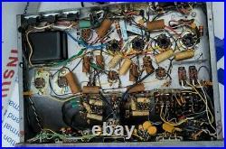 Vintage David Bogen DB212 Tube Integrated Amplifier Amp 6V6 GT 7199 As Is