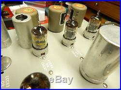 Vintage Dukane 1U460A Mono Tube Amp with Dukane Microphone- Mullard-Tung Sol