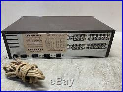 Vintage Dyna Dynaco Pas Stereo Stereophonic Tube Pre Amp Preamp Preamplifier