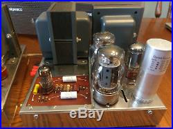 Vintage Dynaco Mark III Mono Block Tube Amps Amplifiers, Pair, Serviced