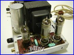 Vintage Dynaco ST35 / Stereo 35 Tube Amplfier / 6BQ5 - KT