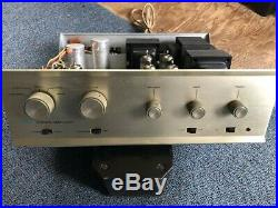 Vintage Dynaco Sca-35 Integrated Stereo Tube Amplifier Dynakit Fixer