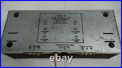 Vintage Dynaco Stereo 35 Tube Amplifier No Tubes