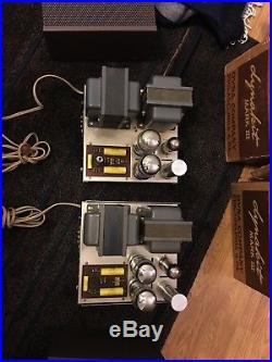 Vintage Dynakit MARK III MonoBlock Tube Amplifiers (2) - Pristine condition