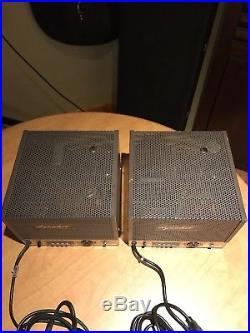 Vintage Dynakit Mark III Mono Tube amplifiers