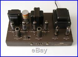 Vintage EICO HF-86 TUBE Amplifier Vintage Stereo EL84 AMP Works