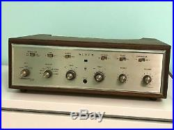 Vintage Early 1960's Scott Stereomaster 222-D Tube Amplifier