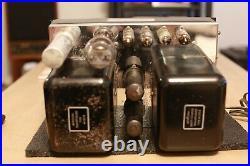 Vintage Early McIntosh MC30 Tube Amplifier Mono Original