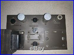Vintage Eico HF-60 Tube Amplifier Chassis For Parts Or Repair