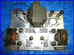 Vintage Electrohome Tube Stereo Amplifier, 6bq5 Push Pull Type