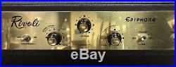 Vintage Epiphone Rivoli Bass Guitar Tube Amplifier Head, Gibson GA-100