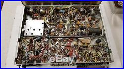 Vintage FISHER 600 AM FM stereo receiver tube amp Serviced