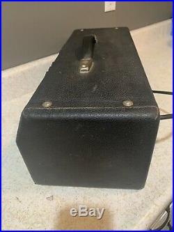 Vintage Fender 1969 Silverface Bassman Tube Bass Amp Head