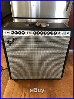 Vintage Fender 1970s Super Reverb Tube Guitar Combo Amp