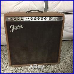 Vintage Fender Concert Amp 1961 Brownface 4x10 6G12 A Brown Bassman Tube