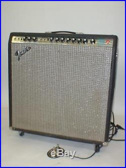 Vintage Fender Super Reverb Silverface Combo Guitar Tube Amp amplifier 1970's