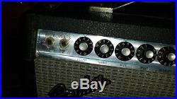 Vintage Fender Vibro Champ Silverface Tube Amp