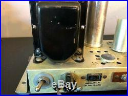 Vintage Fisher 30-A Tube Amplifier RESTORED Looks & Sounds Great