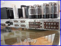 Vintage Fisher 500-c Tube Stereo Amp & Fm Receiver Restored, New Tubes